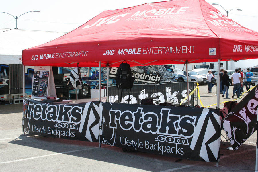 Retaks BMX demo Formula Drift Long Beach 09