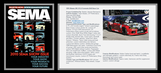 SEMA News Magazine Nov 2010